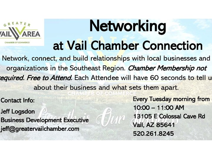 Networking at Vail Chamber Connection