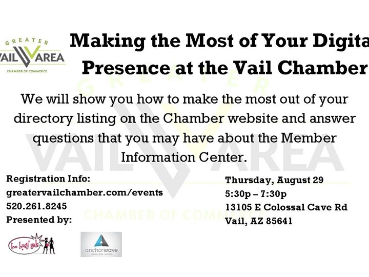Making the Most Out of Your Digital Presence at the Vail Chamber